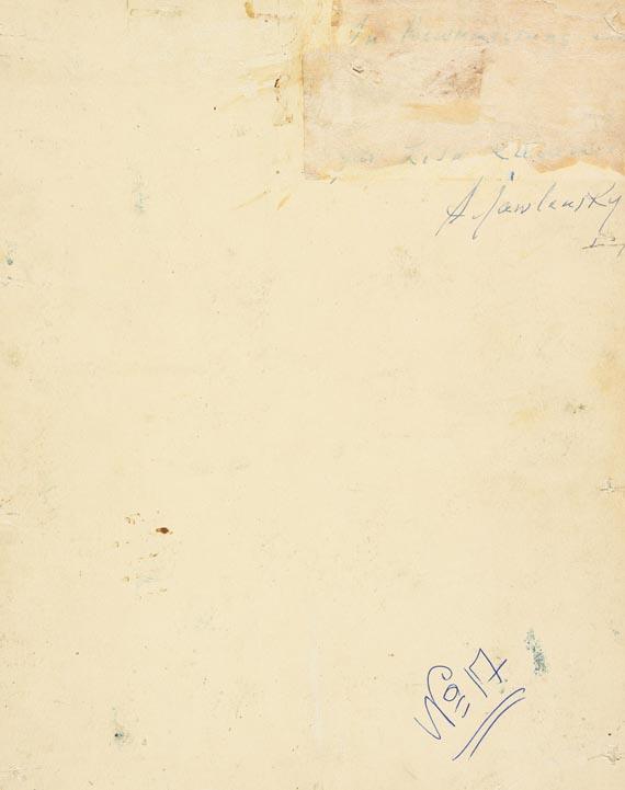 Alexej von Jawlensky - Abstrakter Kopf - Weitere Abbildung