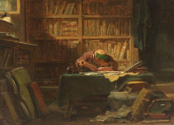 Carl Spitzweg - Im Studierzimmer