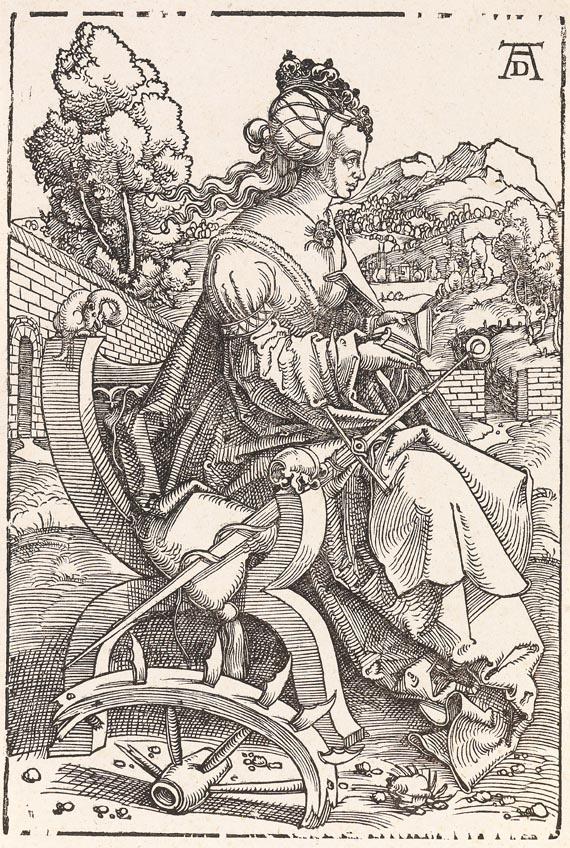 Hans Baldung gen. Grien - Die Heilige Katharina