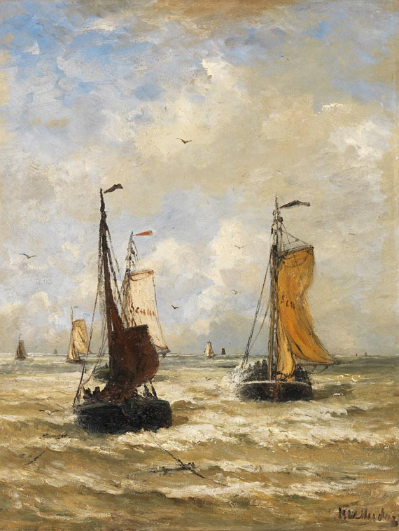 Hendrik Willem Mesdag - Die Rückkehr der Fischer