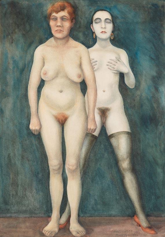 Otto Griebel - Zwei Frauen