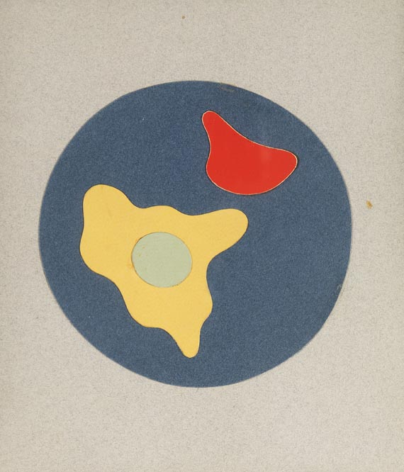Hans (Jean) Arp - Composition on Five Collages
