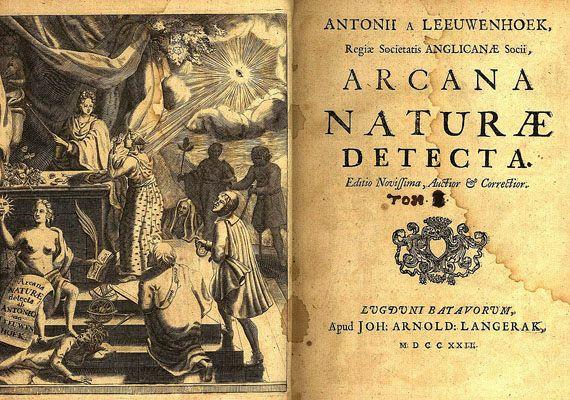 Antony van Leeuwenhoek - Arcana naturae detecta, 1722