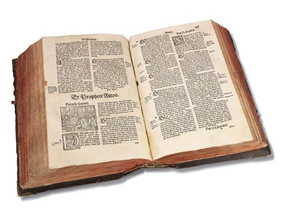 Biblia germanica - Biblia germanica inferior. Wittenberg 1558 -