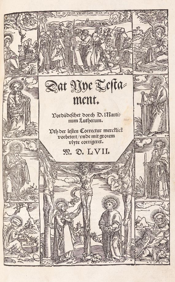 Biblia germanica - Biblia germanica inferior. Wittenberg 1558
