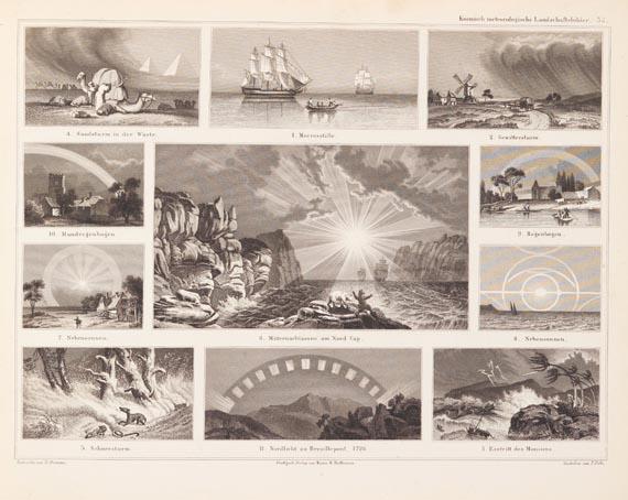 Alexander von Humboldt - Bromme, Traugott, Atlas zu Humboldts Kosmos. 1851