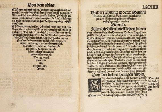 Martin Luther - Mancherley büchlin und tractetlin. 1520