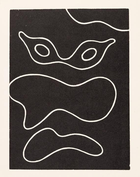 Hans (Jean) Arp - Dreams and Projekts. 1951