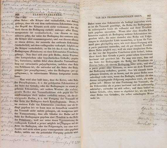 Immanuel Kant - Sämmtliche Werke. 6 Bde. (1838-1842)