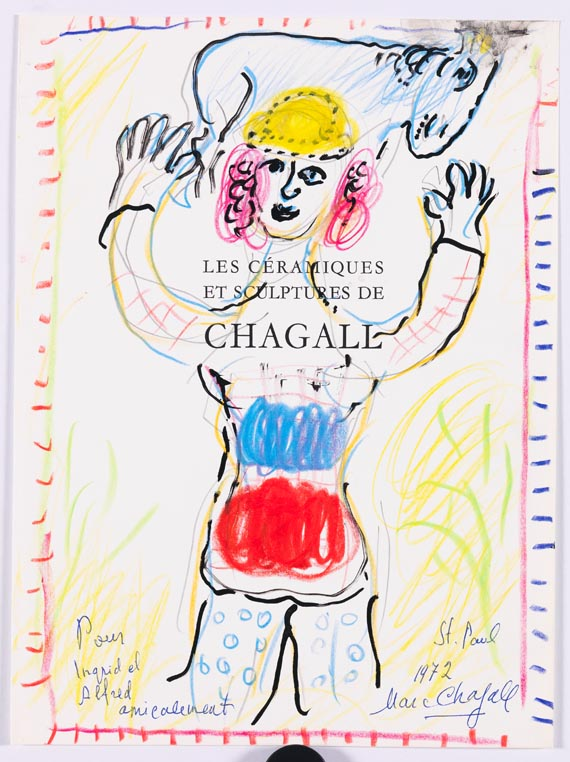 Marc Chagall - La Joie du Berger - Weitere Abbildung