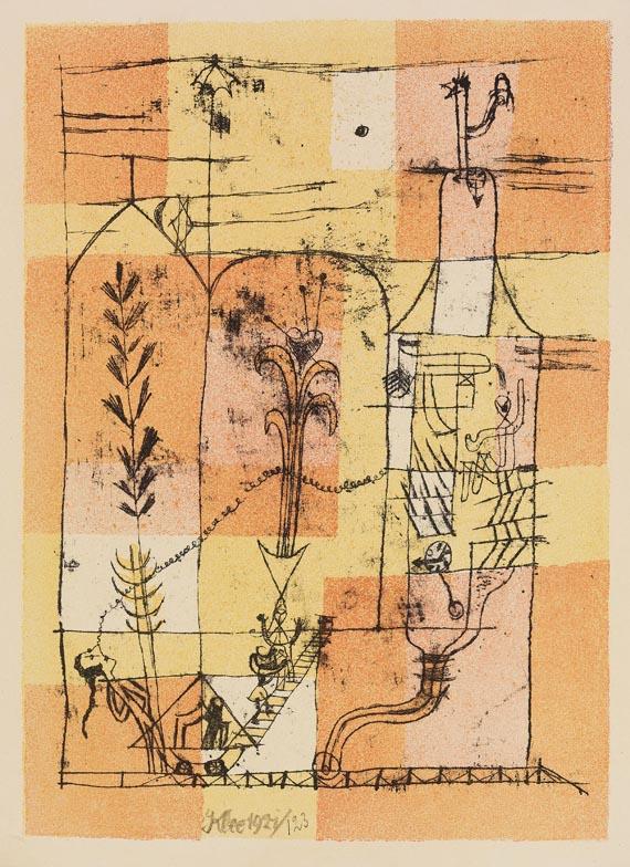 paul klee hoffmanneske szene - Paul Klee Lebenslauf