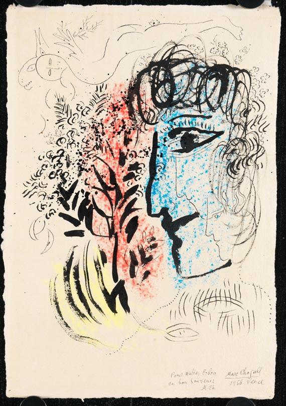 Marc Chagall - Kopf im Profil - Weitere Abbildung