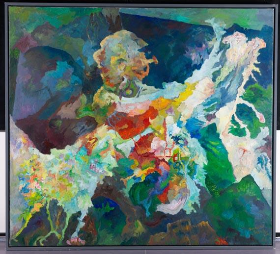 Bernard Schultze - das Unheil hat Flügel - Weitere Abbildung