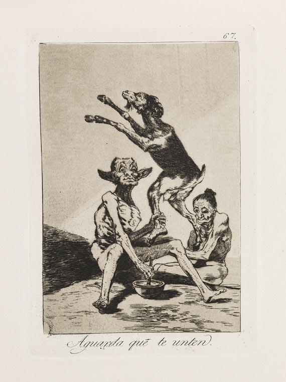Francisco de Goya - 80 Blätter: Los Caprichos - Weitere Abbildung