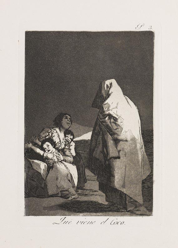 Francisco de Goya - 80 Blätter: Los Caprichos