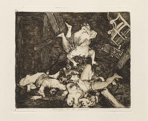 Francisco de Goya - 80 Blätter: Los desastres de la guerra - Weitere Abbildung