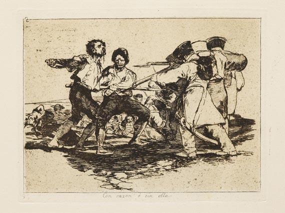 Francisco de Goya - 80 Blätter: Los desastres de la guerra