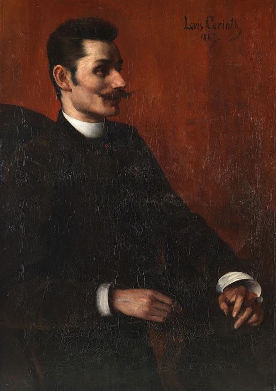 Lovis Corinth - Porträt des Herrn Lilienthal