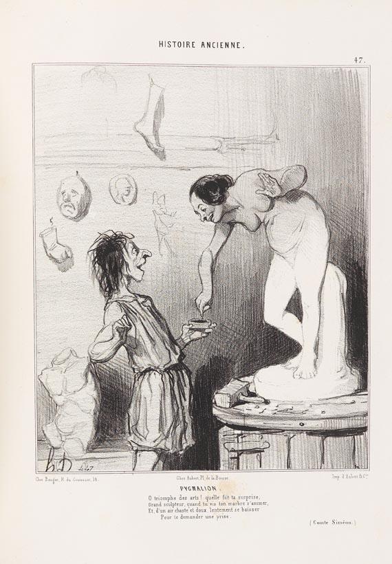 Honoré Daumier - Histoire ancienne, Paris 1841-43.