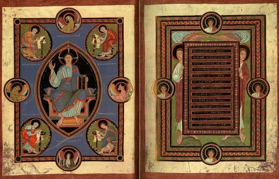 Goldene Evangelienbuch - Faks.: Evangelienbuch von Echternach. 2 Bde. (1982)