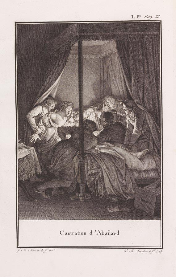 Moreau le Jeune, J. M. - Lettres d' Héloise. 3 Bde. (1796)