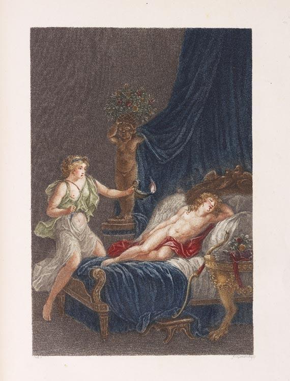 Jean de La Fontaine - Les amours de Psyché et de Cupidon. (1791)