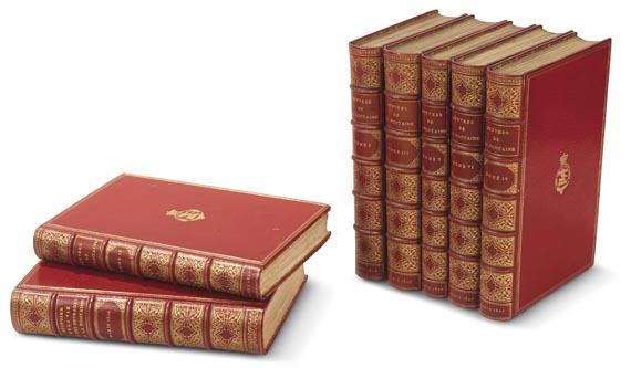 Jean de La Fontaine - Oeuvres de La Fontaine. 7 Bde. (1826-1827)