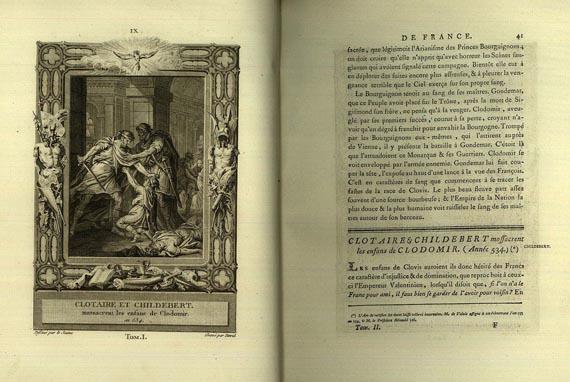 Francois Anne David - Histoire de France. 5 Bde. (1787-1796)
