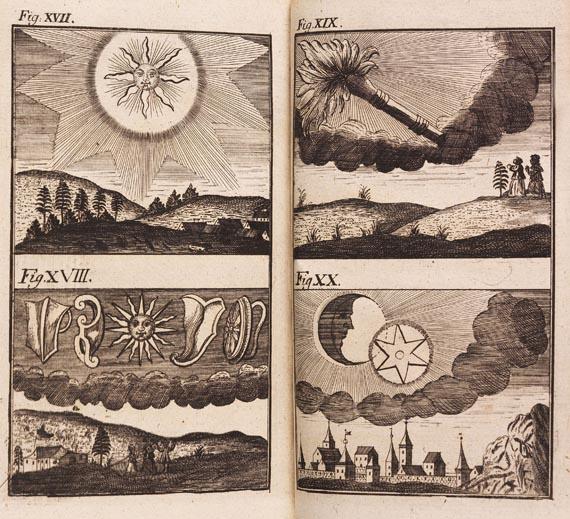 Conrad Lycosthenes - Cometen (1744)