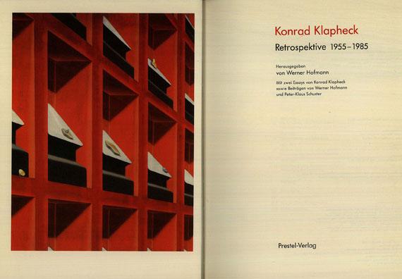 Konrad Klapheck - Klapheck. Retrospektive (1985)