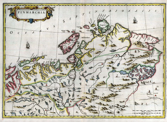 Andreas (oder Anders) Lind - Blaeu, J., Finmarchia.