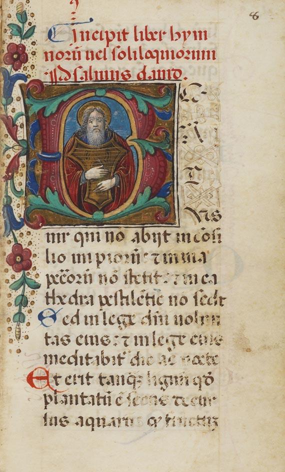 Manuskripte - Psalterium. Um 1500.