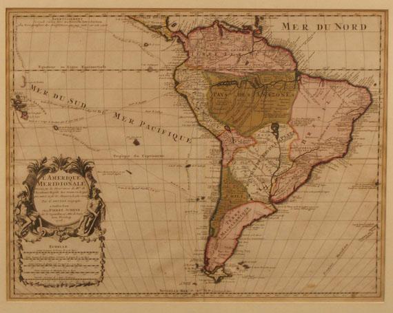 Amerika - Schenk, P., Amerique meridionale (nach De l'Isle).