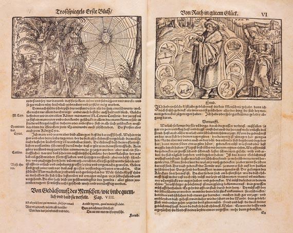 Francesco Petrarca - Trostspiegel. 1572