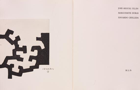 Eduardo Chillida - J.-M. Ullán: Adoración (1977). Vorzugsausgabe mit Suite.