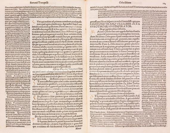 Gaius Suetonius Tranquillus - De vita duodecim caesarum. 1493