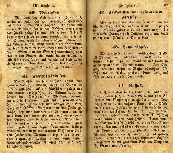Rigasches Kochbuch - Rigasches Kochbuch. 1847