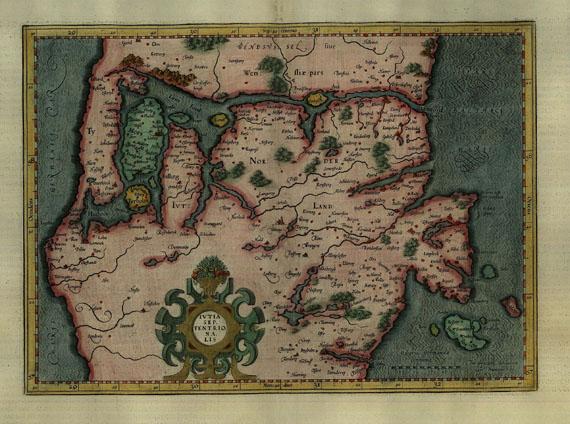 Dänemark - Mercator, G., 2 Bll. Jütland und Fünen.