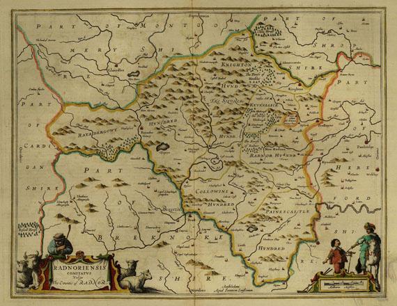 Großbritannien - 2 Bll. Radnor und Firth of Forth. 1640