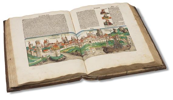 Hartmann Schedel - Weltchronik. 1493 (koloriert, dt. Ausgabe) - Weitere Abbildung