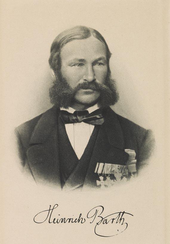 Heinrich Barth - Schubert, Gustav von, Heinrich Barth, 1897 und Sammelbuch