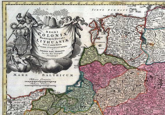 Baltikum - 1 Bl. Poloniae, Lithuaniae