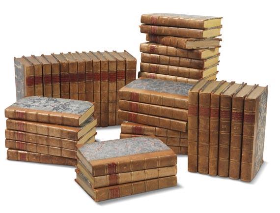 William Curtis - The botanical magazine, 1790-1838. Zus. 66 in 45 Bdn. - Einband