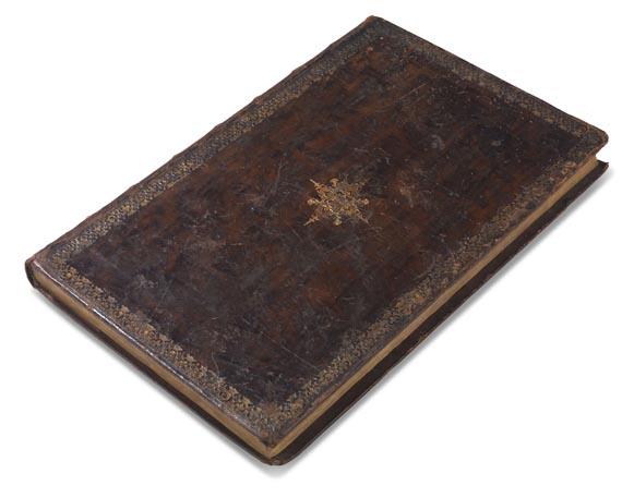 Manuskripte - Seebach, J. W. von, Beschreib und Handlung einer neu erfundenen Bombarde. 1746 - Cover