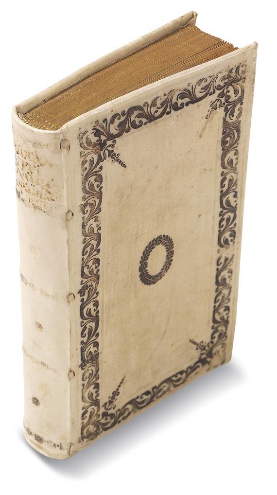 Biblia germanica - Schröder, J., Kleine Spruchbibel. 1660. - Einband