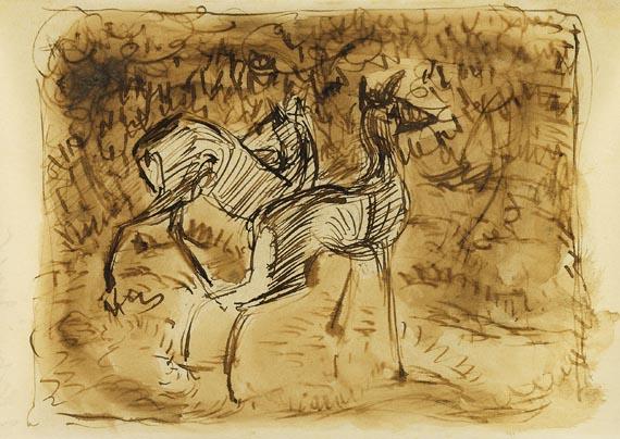 Franz Marc - Zwei Rehe im Walde