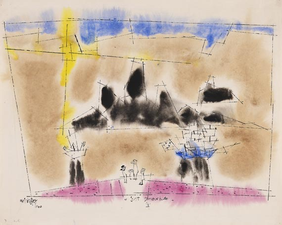 Lyonel Feininger - Just somewhere II