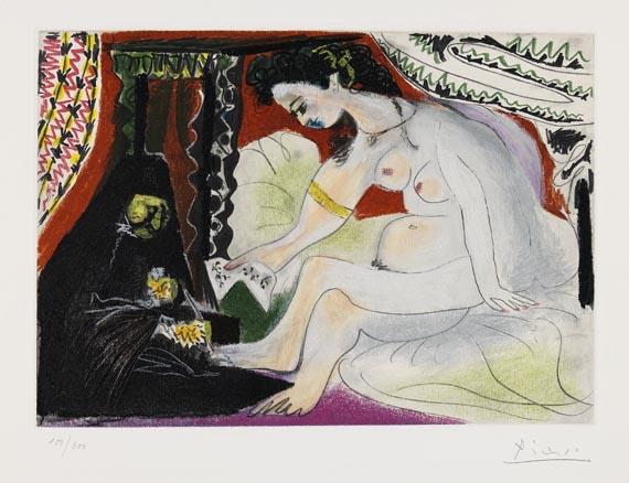 Pablo Picasso - Nach - Bethsabée