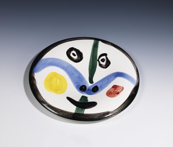 Pablo Picasso - Face no. 0
