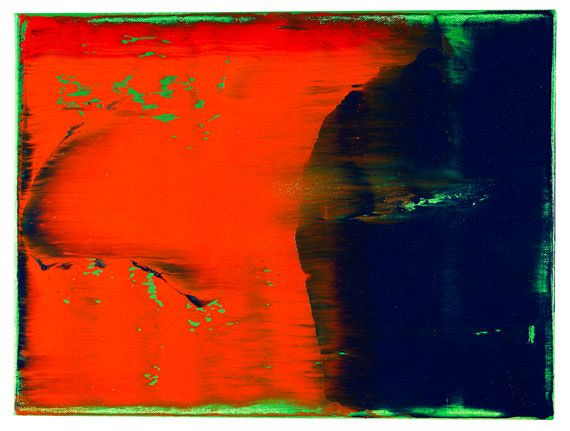 Gerhard Richter - Grün-Blau-Rot